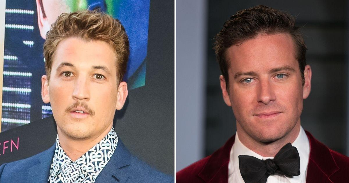 miles teller replace armie hammer godfather miniseries the offer