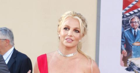 Britney Spears at Los Angeles premiere of 'Once Upon a Time In Hollywood