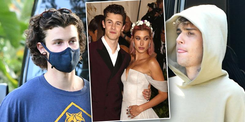 [Shawn Mendes] Meets Up With Ex [Hailey Baldwin] And [Justin Bieber] At Recording Studio