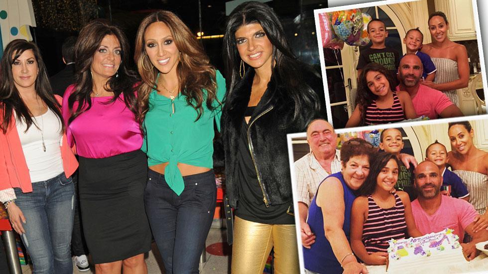 Melissa gorga teresa guidice cousins birthday party