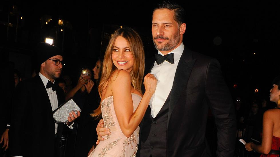 Sofia Vergara and Joe Manganiello arrive at the Standard Hotel for the Met Gala after party