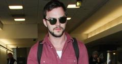 INF – Nicholas Hoult Arrives at LAX Airport