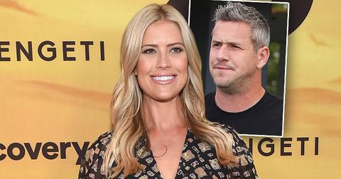 Christina El Moussa Anstead with Inset of Ant Anstead