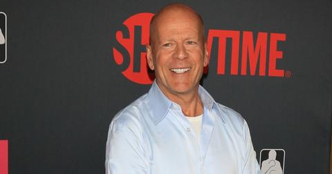 Bruce Willis at the Mayweather VS McGregor VIP Pre Fight Party Arrivals