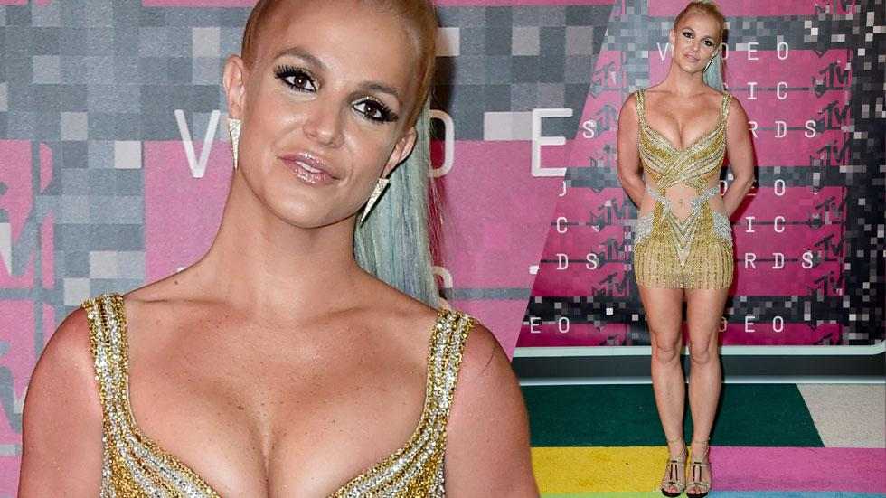 Britney spears mtv vmas 2015