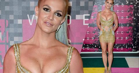 Britney spears mtv vmas 2015