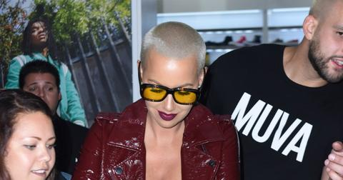 Amber Rose Sexy Instagram - Celebrity Sightings