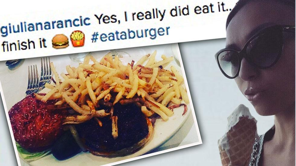 Guiliana rancic foods she eats convince fans