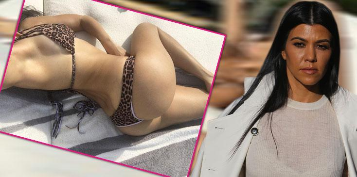 kourtney kardahian bikini body