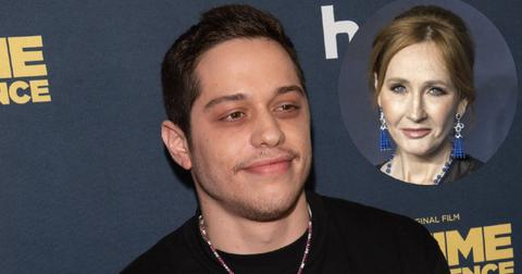Pete Davidson Blasts J.K. Rowling Transphobic Remarks On 'SNL'