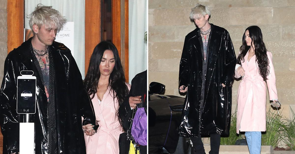 megan fox and machine gun kelly do a double date with avril lavigne and mod sun ok