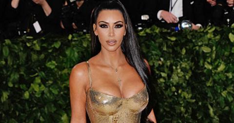 Kim kardashian explains kanye west met gala absence