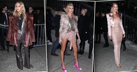 Inside tom ford fashion show hailey baldwin