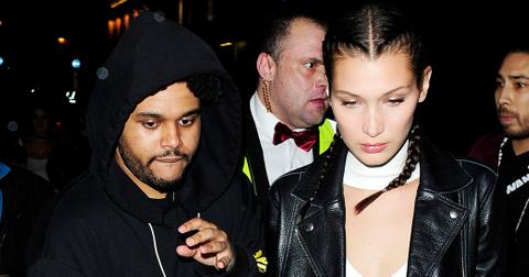 Bella Hadid and The Weeknd end their night out at Cirque le Soir