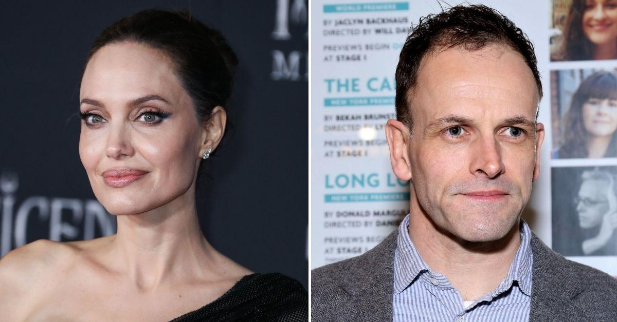 angelina jolie reconnecting ex jonny lee miller introduced knox pax