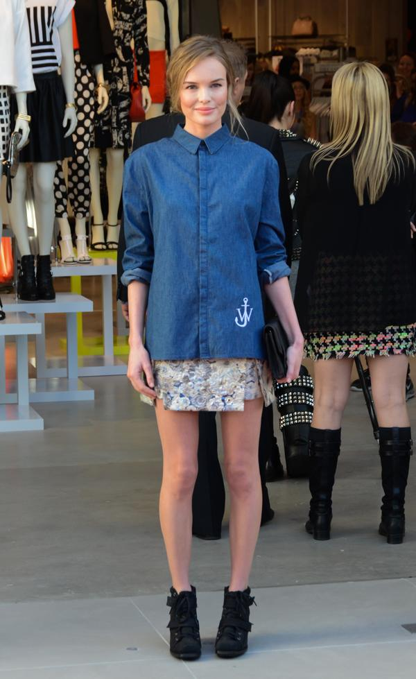 Kate Bosworth Chambray