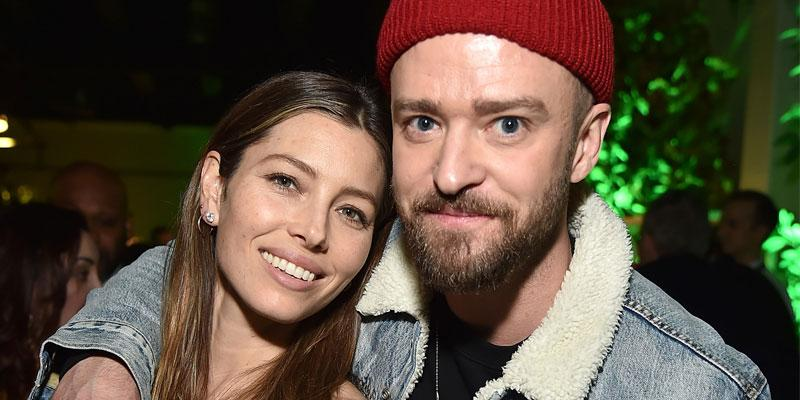 Jessica biel shows husband justin timberlake support album release party ok pp