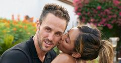 Tayshia Adams Kissing Zac Clark