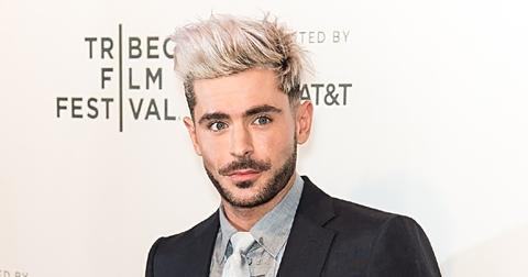 """Zac Efron attends the screening of """"Extremely Wicked, Shockingly Evil and Vile"""" during the Tribeca Film Festival in New York"""