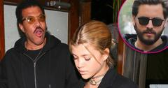 Lionel Richie treats daughter Sofia to dinner at Madeo