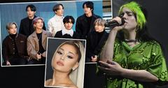 2020 Billboard Music Award Nominations: [Billie Eilish], [BTS] And Ariana Grande