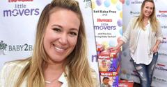 Haylie duff huggies motherhood