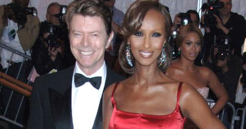 Iman message david bowie