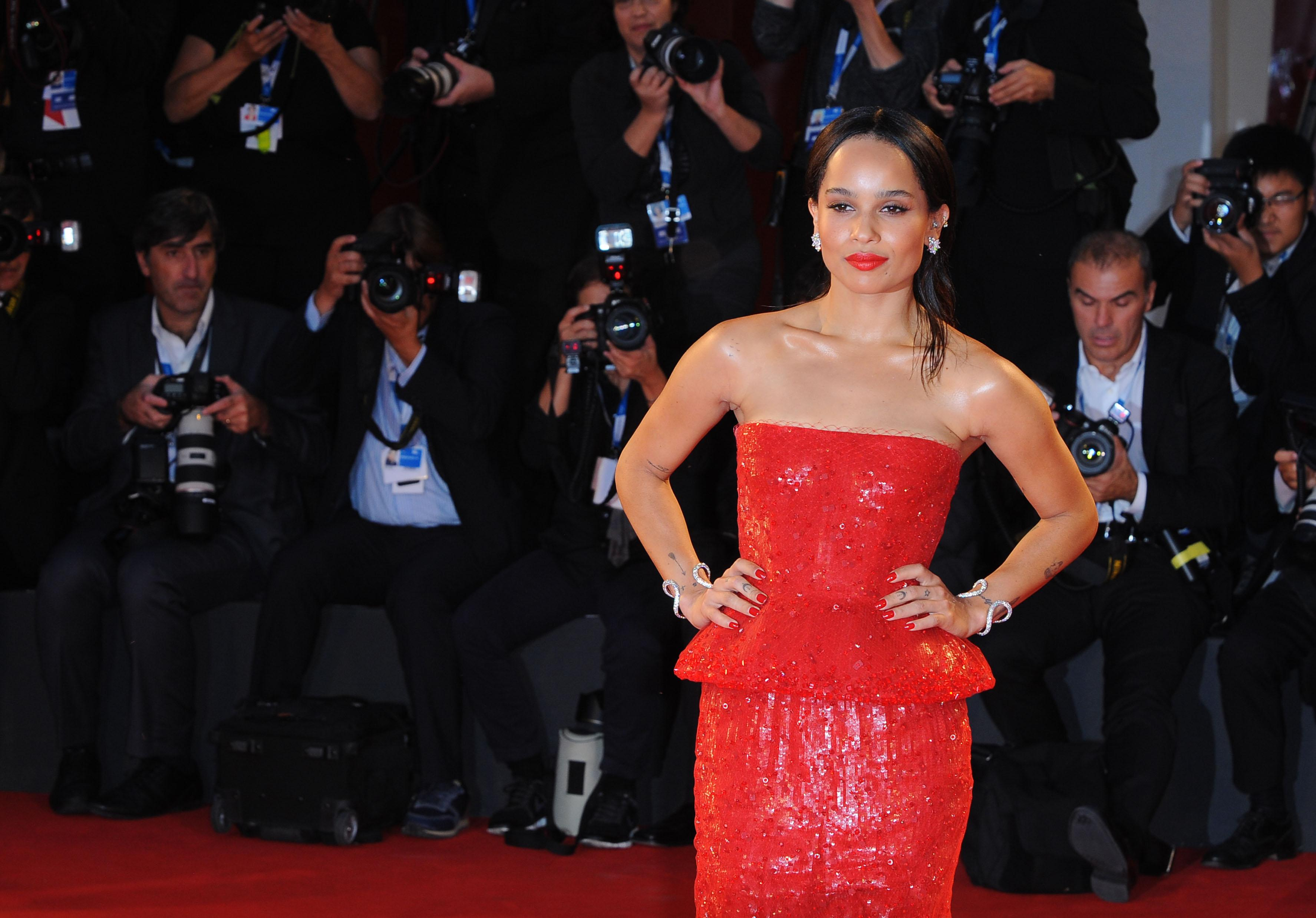 """Celebrities attend the """"Good Kill"""" premiere at the 71st Venice Film Festival"""