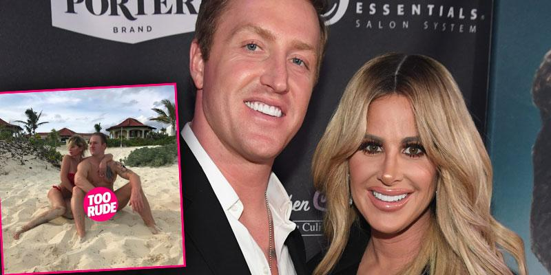 Kim zolciak kroy biermann naked vacation beach ok pp