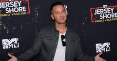 Mike 'The Situation' Sorrentino at the Jersey Shore Family Vacation LA Red Carpet Premiere
