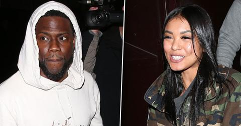 Kevin Hart & Wife Eniko Spotted Leaving Peppermint Club