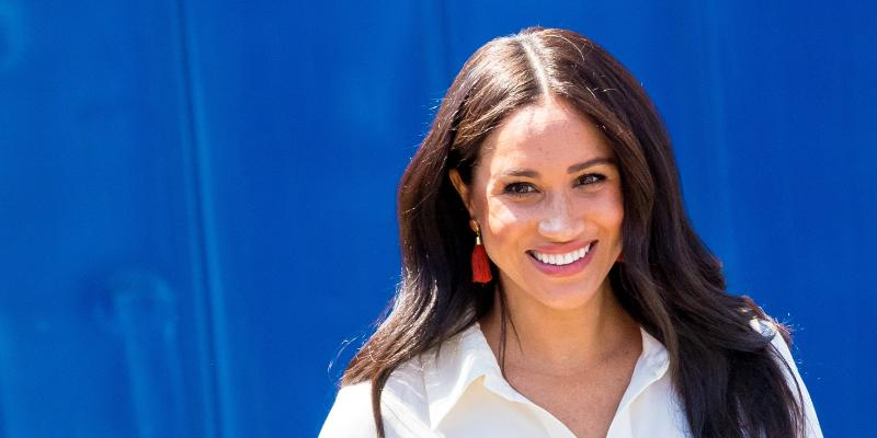 Meghan Markle at her 39th birthday party