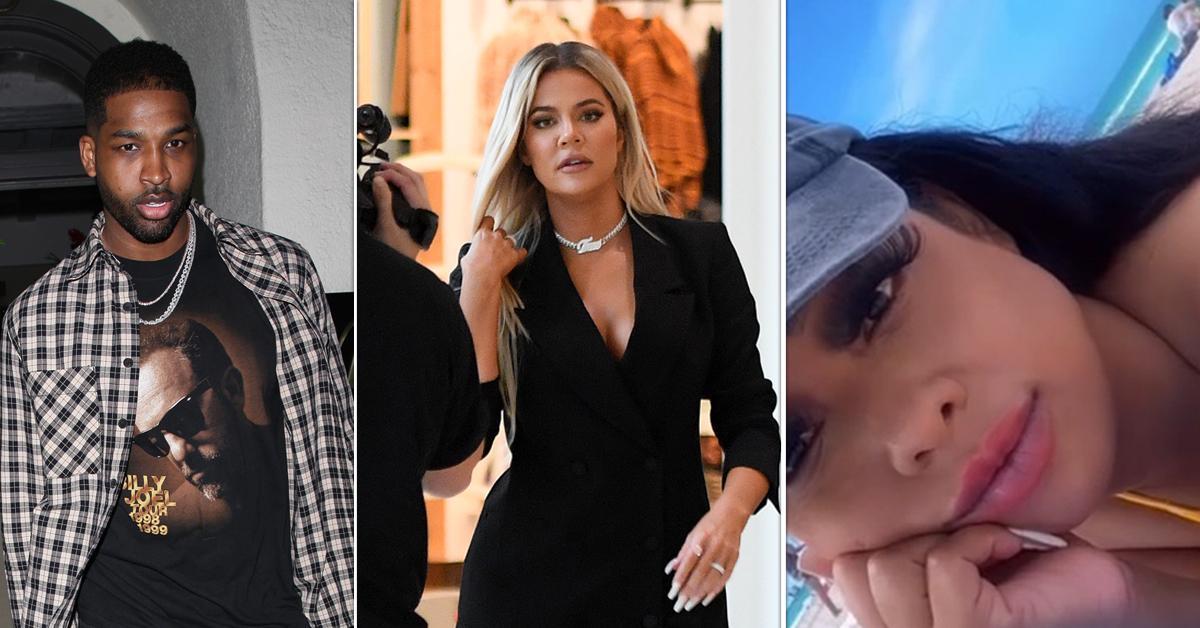 tristan thompson paternity accuser posts son birth certificate slams khloe kardashian