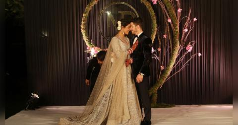 Wedding Reception Of Bollywood Actor Priyanka Chopra And American Singer Nick Jonas