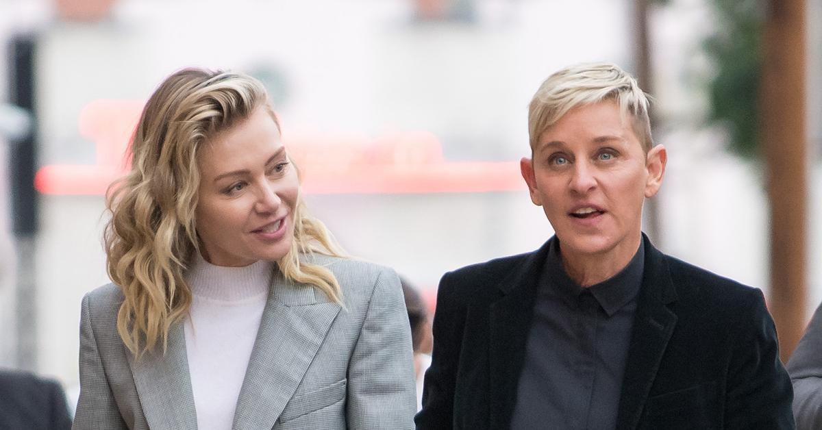 ellen degeneres health update portia de rossi emergency surgery appendicitis