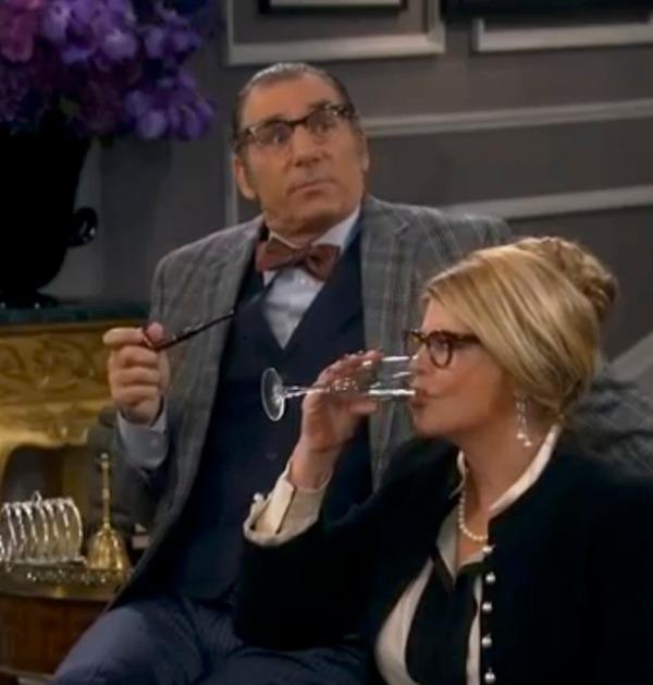 Kirstie Alley and Michael Richards on TV Land's Kirstie