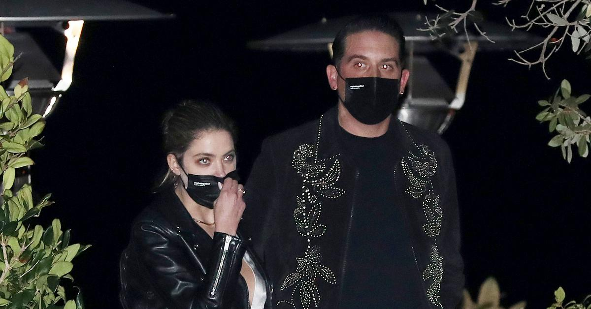 ashley benson and g eazy spotted together two months after breakup