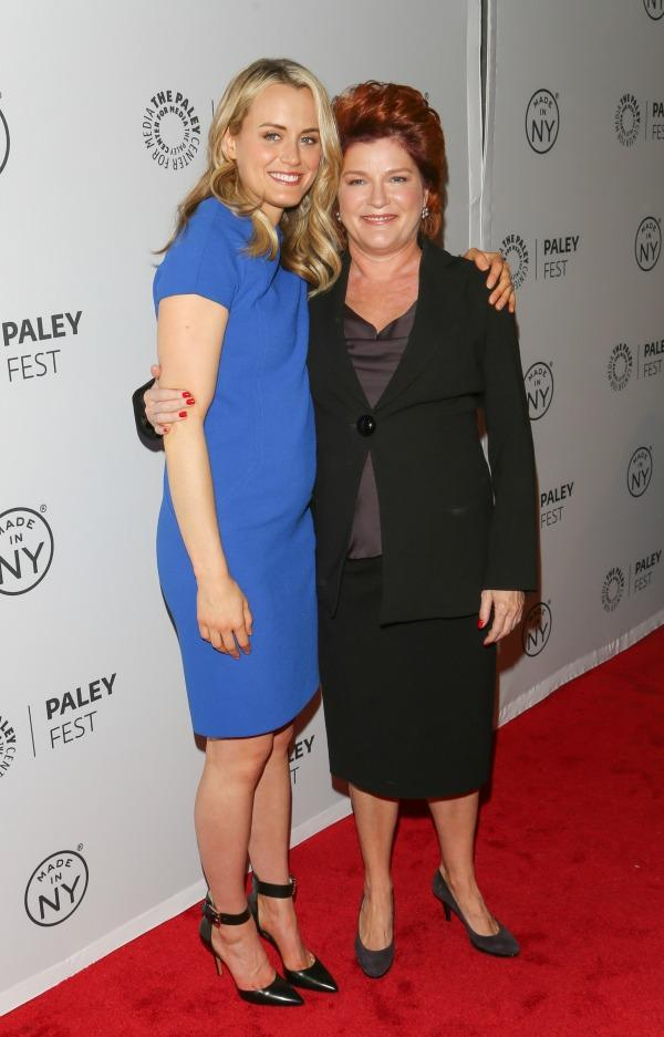 Taylor Schilling and Kate Mulgrew