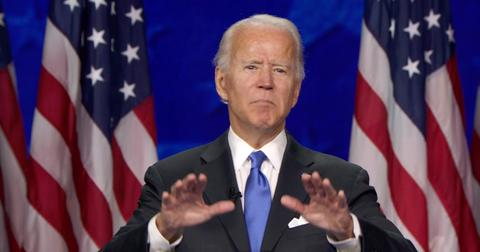 Joe Biden at the Democratic National Convention