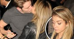 Sarah Hyland Makes Out With Mystery Man