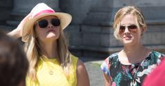 Reese Witherspoon Tours Rome With Ava & Mother