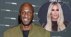 Lamar Odom On Red Carpet Khloe Kardashian Inset