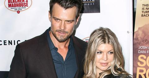 Josh duhamel problems fergie
