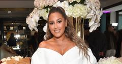 Adrienne Bailon In White Dress Weight Loss Baby