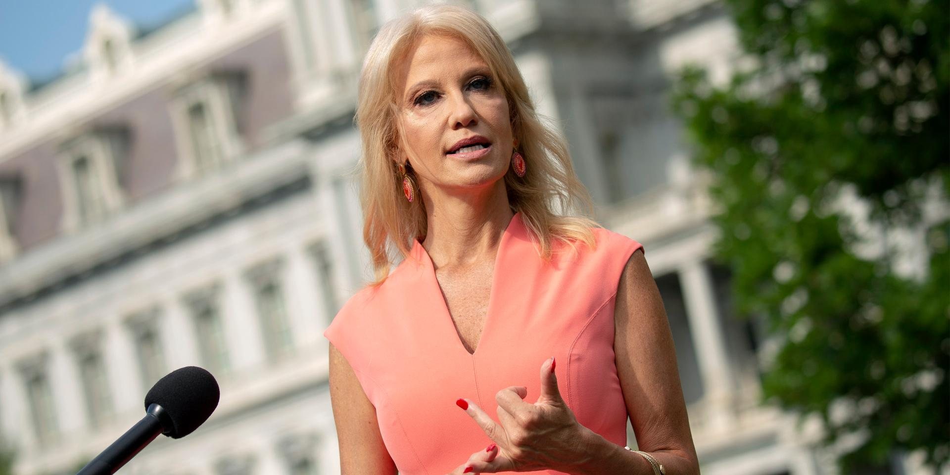 Cops Investigating Kellyanne Conway After Child Abuse Claims