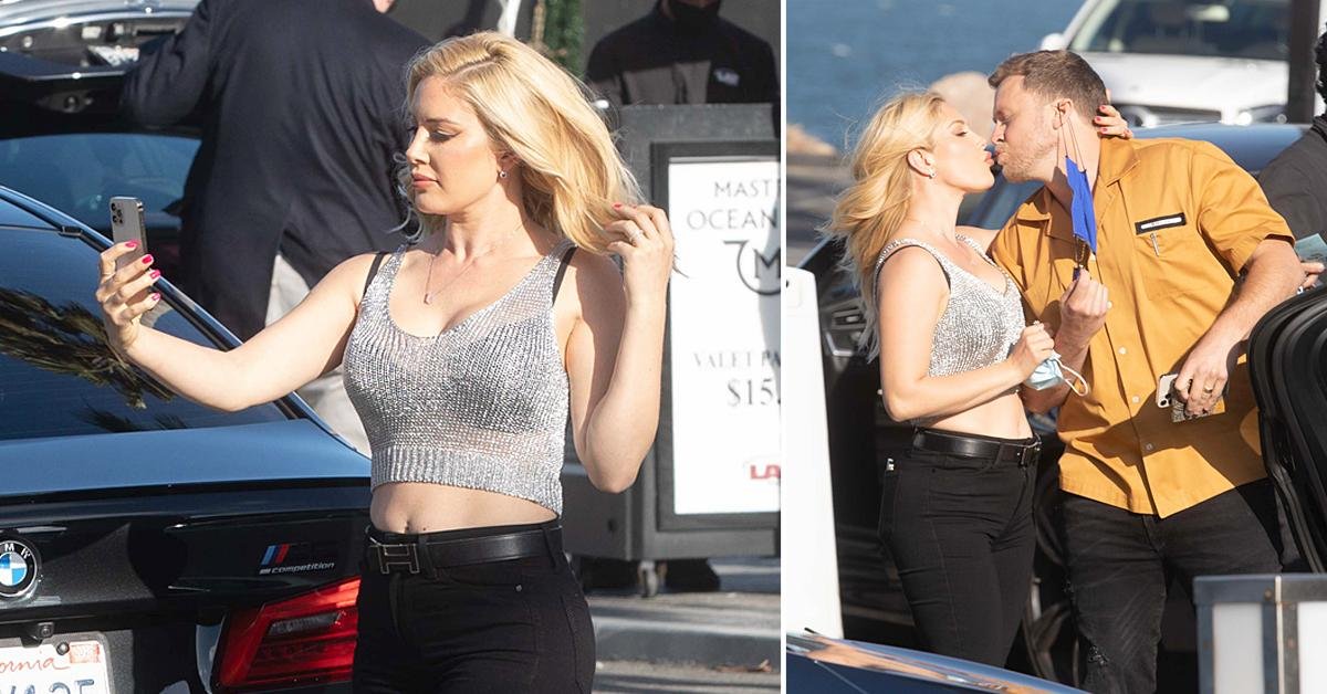heidi montag and spencer pratt out and about