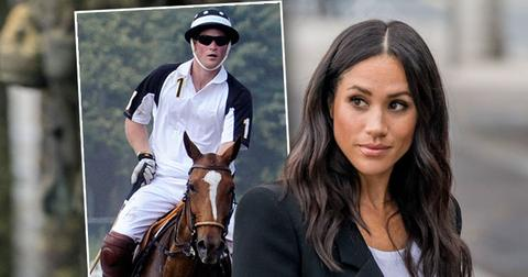 Meghan Markle Bans Prince Harry From Playing Polo, She's Jealous