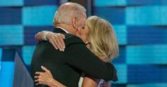 Joe Biden celebrates