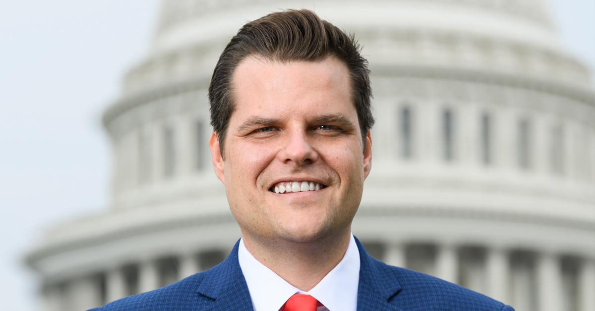 congressman matt gaetz prison allegedly paying underage girl sex pf