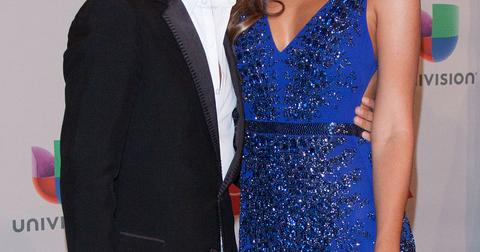 Marc Anthony and Shannon De Lima at the 2014 Latin Grammy awards in Las Vegas